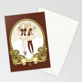 Welcome (Meido Series) Stationery Cards