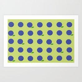 blåbär Art Print