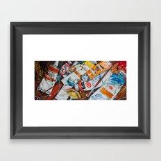 Paint Splash! Framed Art Print