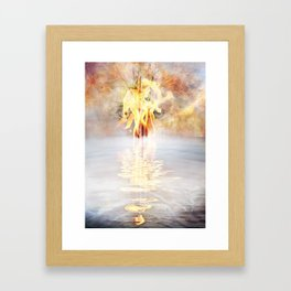 Canto 1-The Dark Wood of Error Framed Art Print