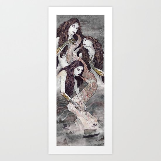The Sirens' Lure Art Print
