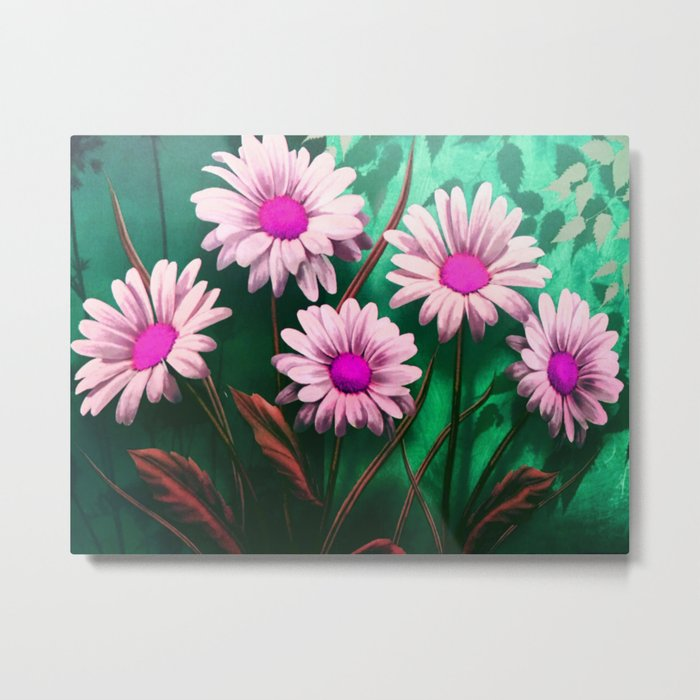 Mythical SunFlowers Metal Print