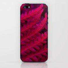red fern abstract II iPhone & iPod Skin