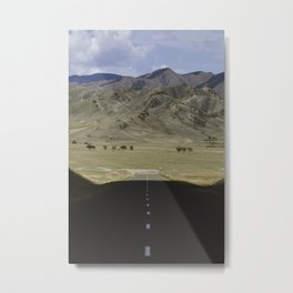 In the land of the Mongols Metal Print