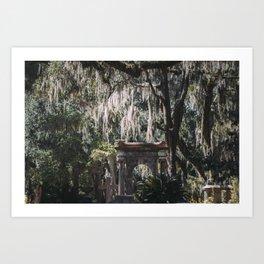 Bonaventure Cemetery, Savannah, Georgia Art Print