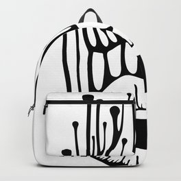 Open Mouth Backpacks Society6
