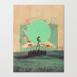 Hopes in Range Canvas Print