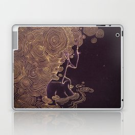 Ripples of Gold Laptop & iPad Skin
