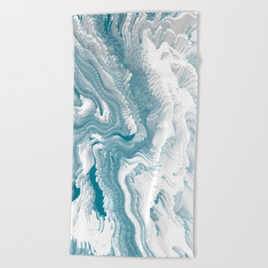 Abstract pattern 222 Beach Towel