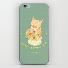 Happy Meowther's Day iPhone & iPod Skin