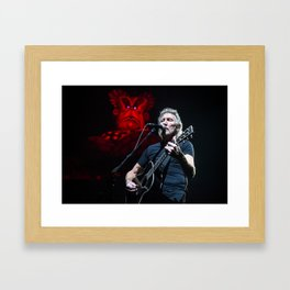 Roger Waters with Mother Framed Art Print