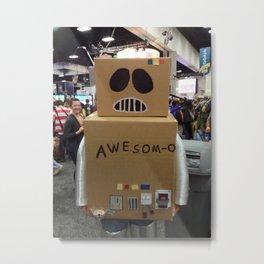 Awesom-O!!!!!!!! Metal Print