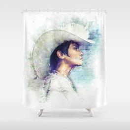 Mitya's Love Shower Curtain