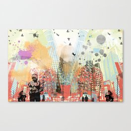 A tale of two cities 1 Canvas Print