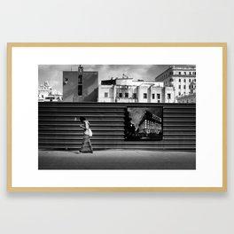 New Construction in La Habana Vieja Framed Art Print
