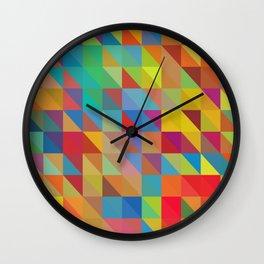 Meduzzle: Color Chaoses Wall Clock