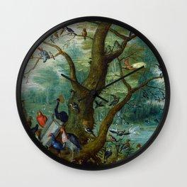 """Jan van Kessel de Oude """"Concert van Vogels"""" Wall Clock"""