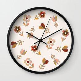 LOVE GARDEN - VINTAGE Wall Clock