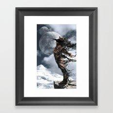 The Shedding Of Darkness 2 Framed Art Print