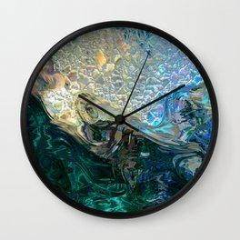 Sea Nymph Abstract Wall Clock