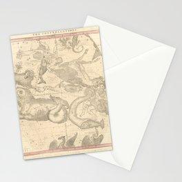 Burritt's Constellations (December, November, October) (1856) Stationery Cards
