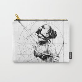 Restrained In Geometry. ©Yury Fadeev Carry-All Pouch