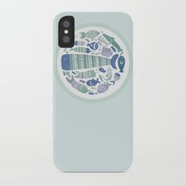 Little Fishes iPhone Case