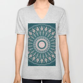 MANDALA NO. 33 #society6 Unisex V-Neck