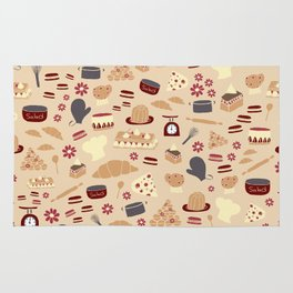 French Kitchen Rug