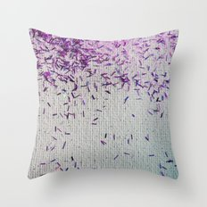 It's Raining Pink Sparkles! Throw Pillow