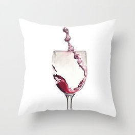 Relax, there's wine! Throw Pillow