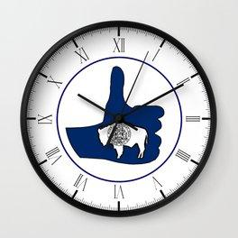 Thumbs Up Montana Wall Clock