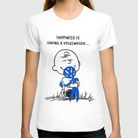 volkswagon T-shirts featuring Happiness is  by BulldawgDUDE