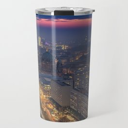 Sunset in Berlin Travel Mug