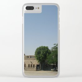 Temple of Luxor, no. 6 Clear iPhone Case