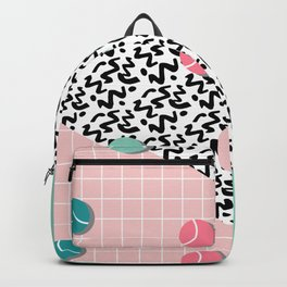 Tennis Pattern Backpack