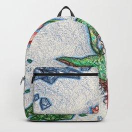 Floating Tulip Backpack