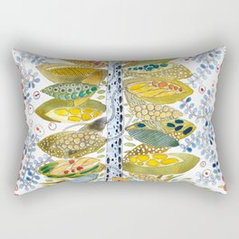 Turtle nest by the Tree Rectangular Pillow