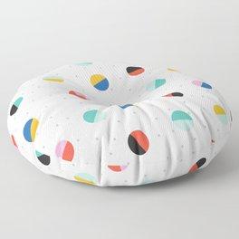 Color Block Dots Floor Pillow