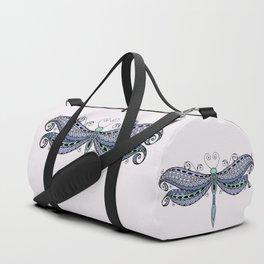 Dragonfly dreams purple Duffle Bag