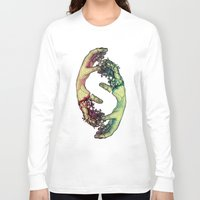 lovers Long Sleeve T-shirts featuring Lovers by FalcaoLucas