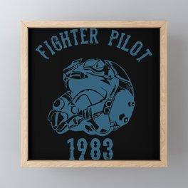Fighter Pilot Framed Mini Art Print