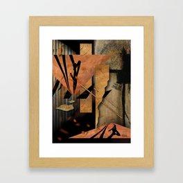 ORIENT EXPRESSION Framed Art Print