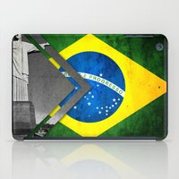 brazil iPad Cases featuring Flags - Brazil by Ale Ibanez