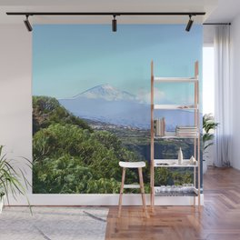 landscape tenerife,painted Wall Mural