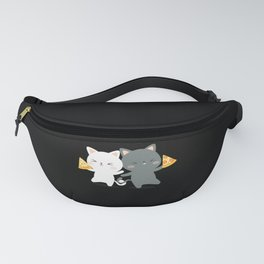 Cats And Pizza Fanny Pack