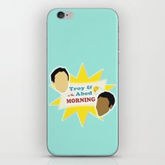 Community Troy & Abed in the Morning iPhone & iPod Skin