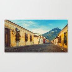 Antigua, Guatemala Canvas Print