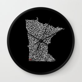 State Secrets - Minneota Wall Clock