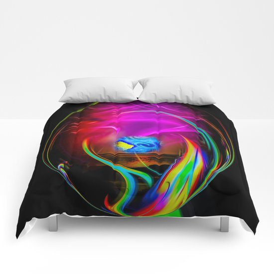 Abstract Perfection -  dreams come true Comforters